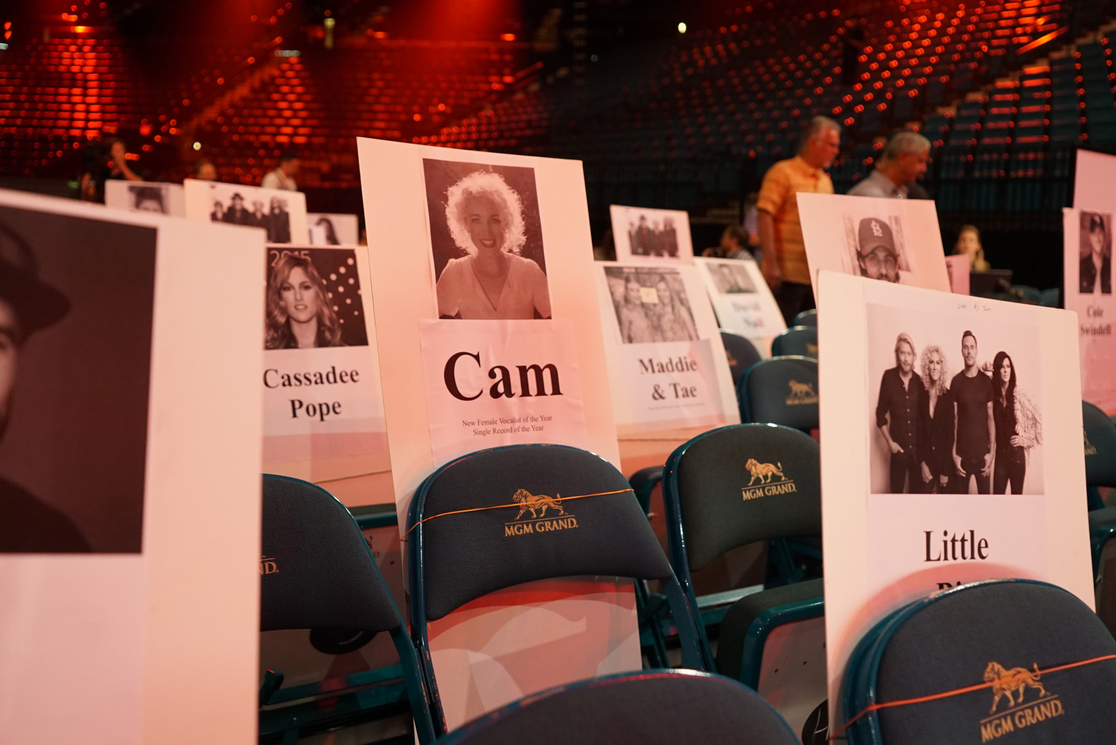Cam will be sharing shoulder space with Little Big Town.