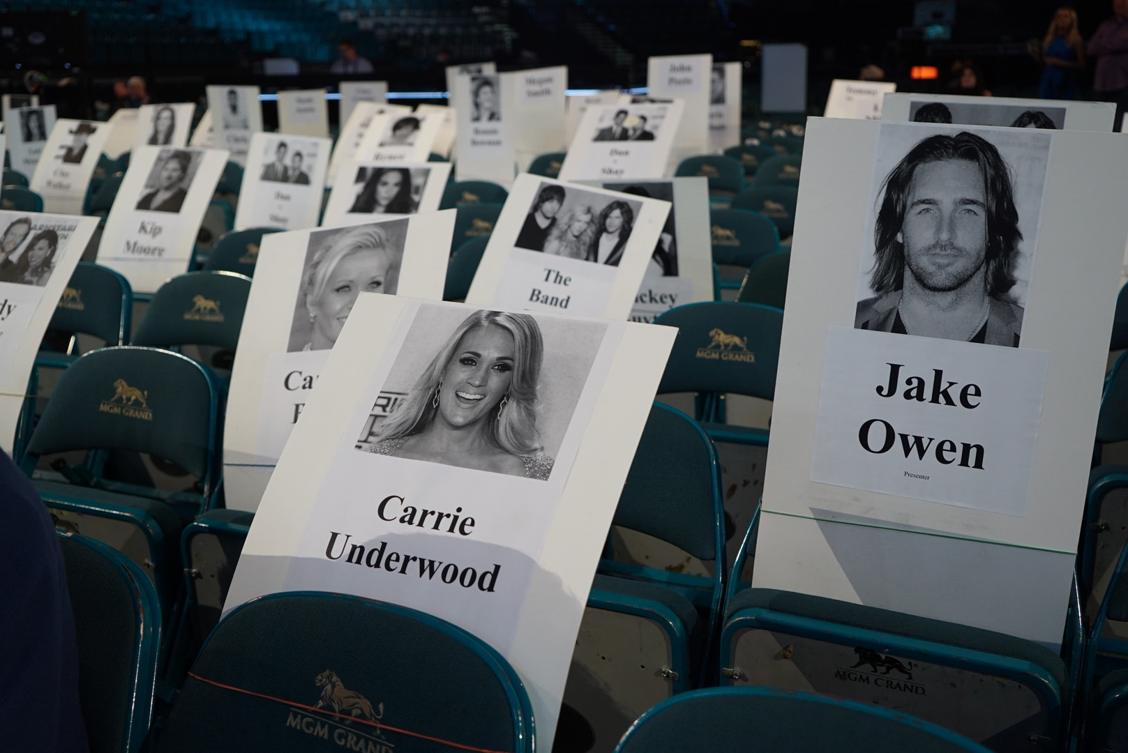 Carrie Underwood and Jake Owen are bound to bump into each other.