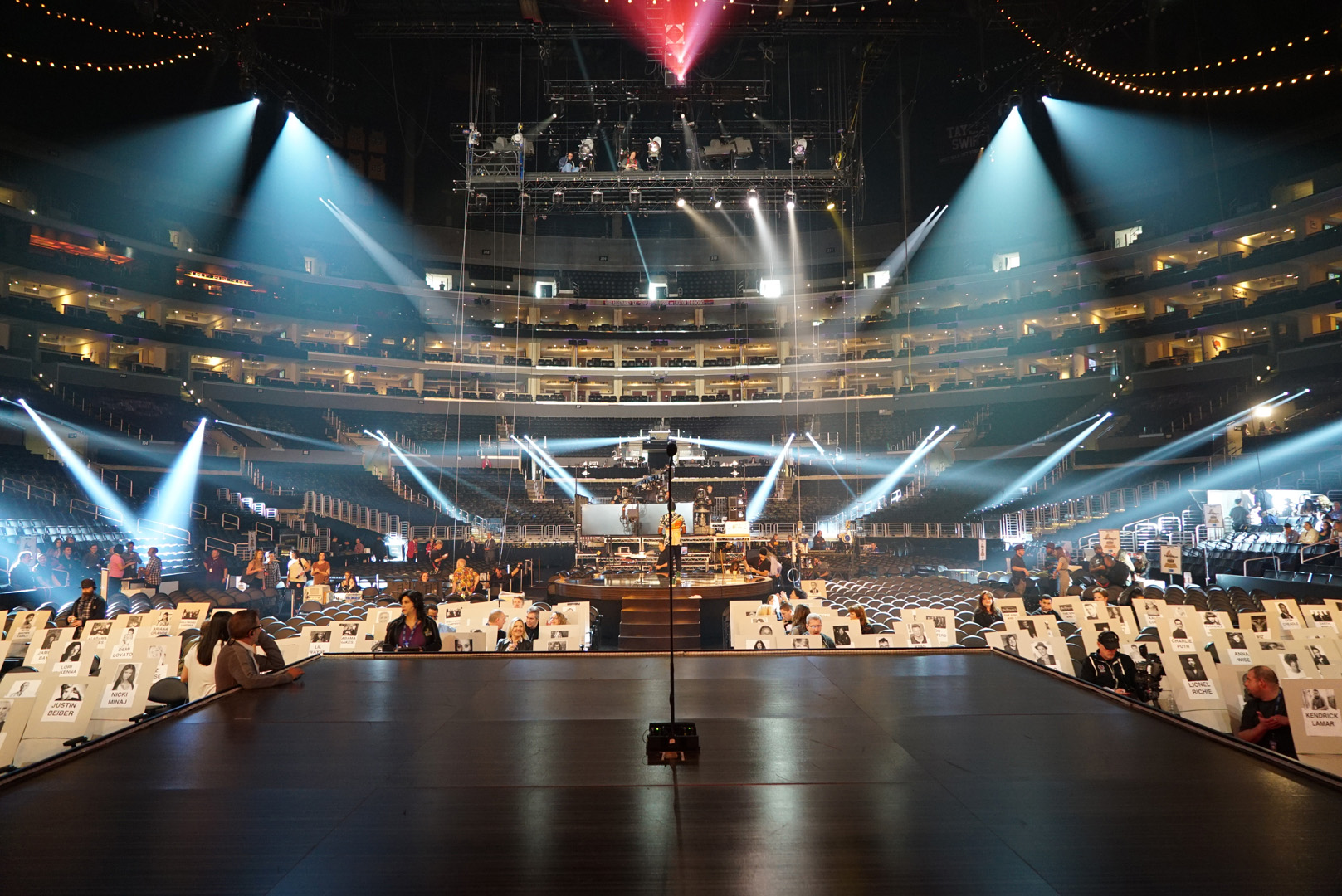 Take a peek backstage at The 58th Annual GRAMMY Awards!
