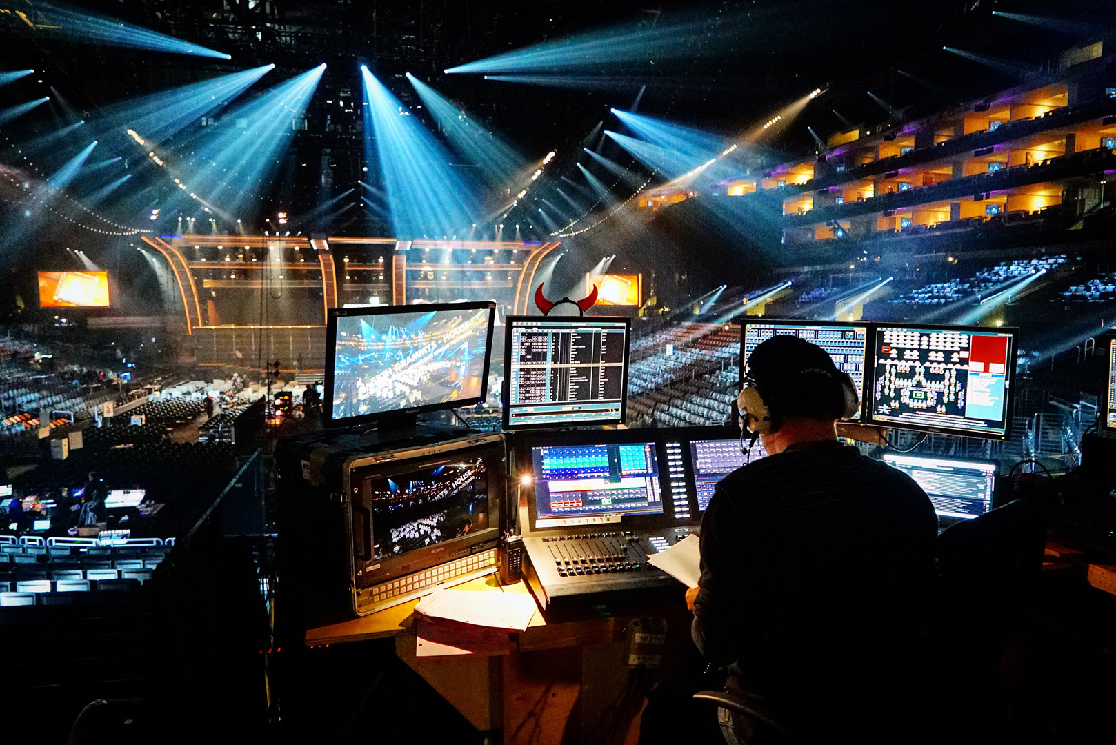 Every aspect of the 58th Annual GRAMMY Awards are given thought at the rehearsals.