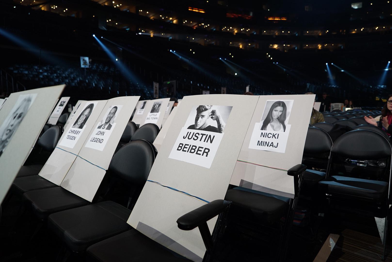 Justin Bieber and Nicki Minaj will be sharing breathing space at Music's Biggest Night.