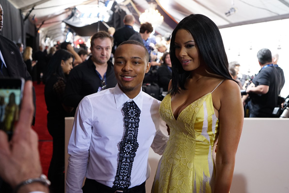 GRAMMYs 2016: Shad Moss and Vanessa Simmons