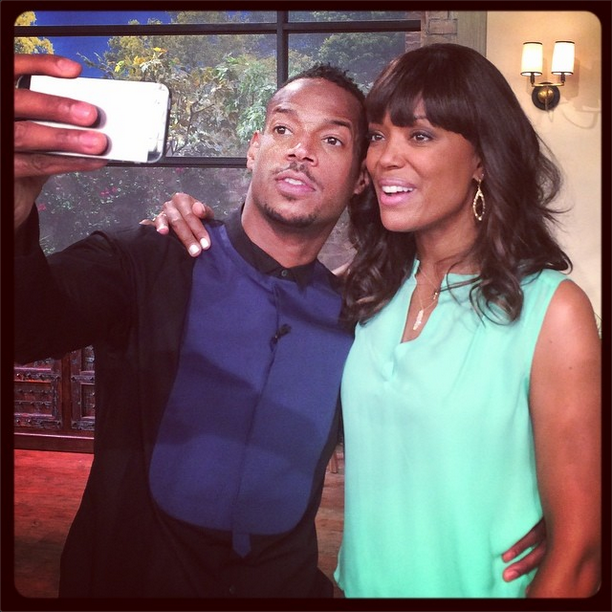 Marlon Wayans and Aisha Tyler