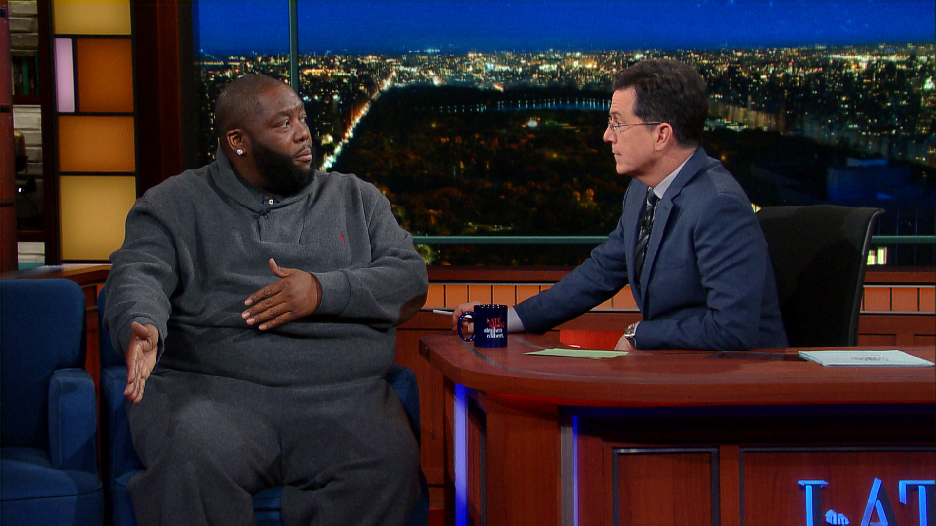 Killer Mike Educates Stephen Colbert