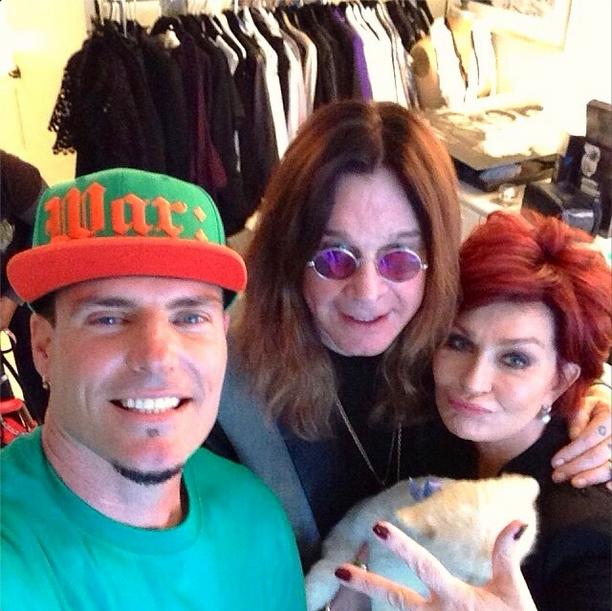 Vanilla Ice, Ozzy Osbourne, Sharon Osbourne
