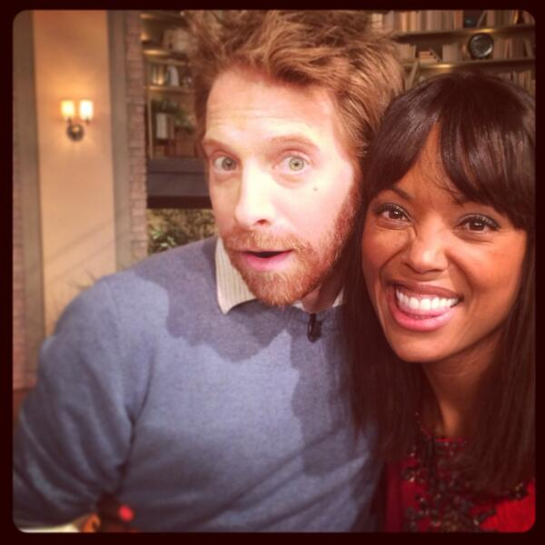 Seth Green and Aisha Tyler