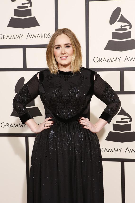 GRAMMYs 2016: Adele