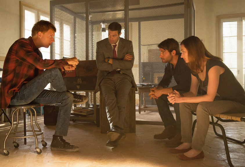Jay Paulson as Leo Butler, Geoff Stults as Agent Ben Shaffer, James Wolk as Jackson Oz, and Kristen Connolly as Jamie Campbell.