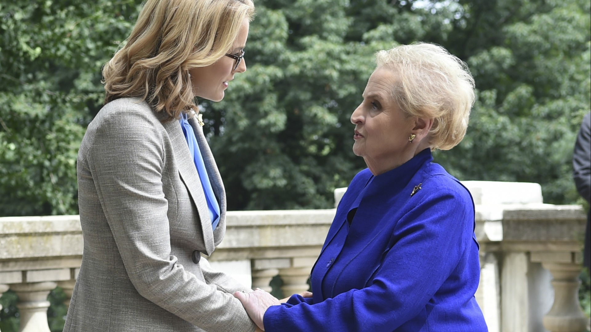 Madeleine Albright inspired Bess to keep fighting.
