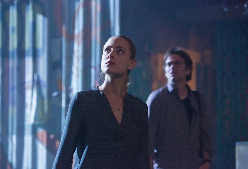 Nora Arnezeder as Chloe Tousignant and Billy Burke as Mitch Morgan.