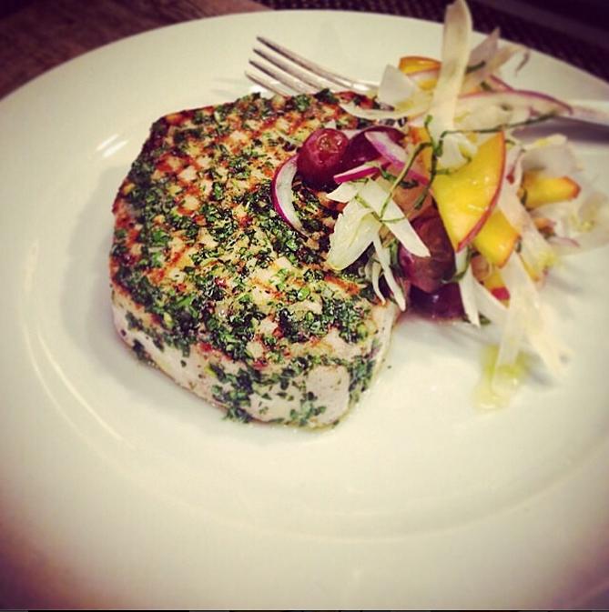 17. Grilled Swordfish - Chef David LeFevre