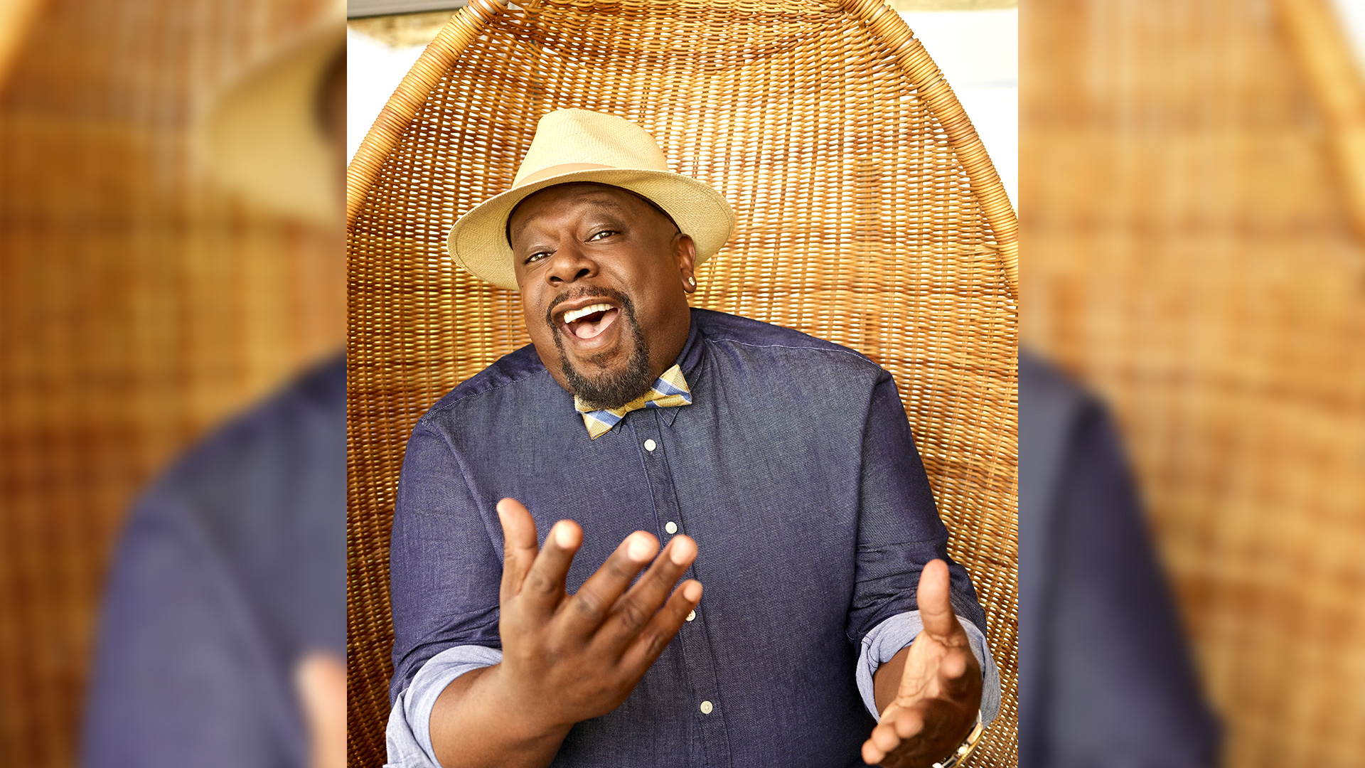 Cedric the Entertainer sets the stage