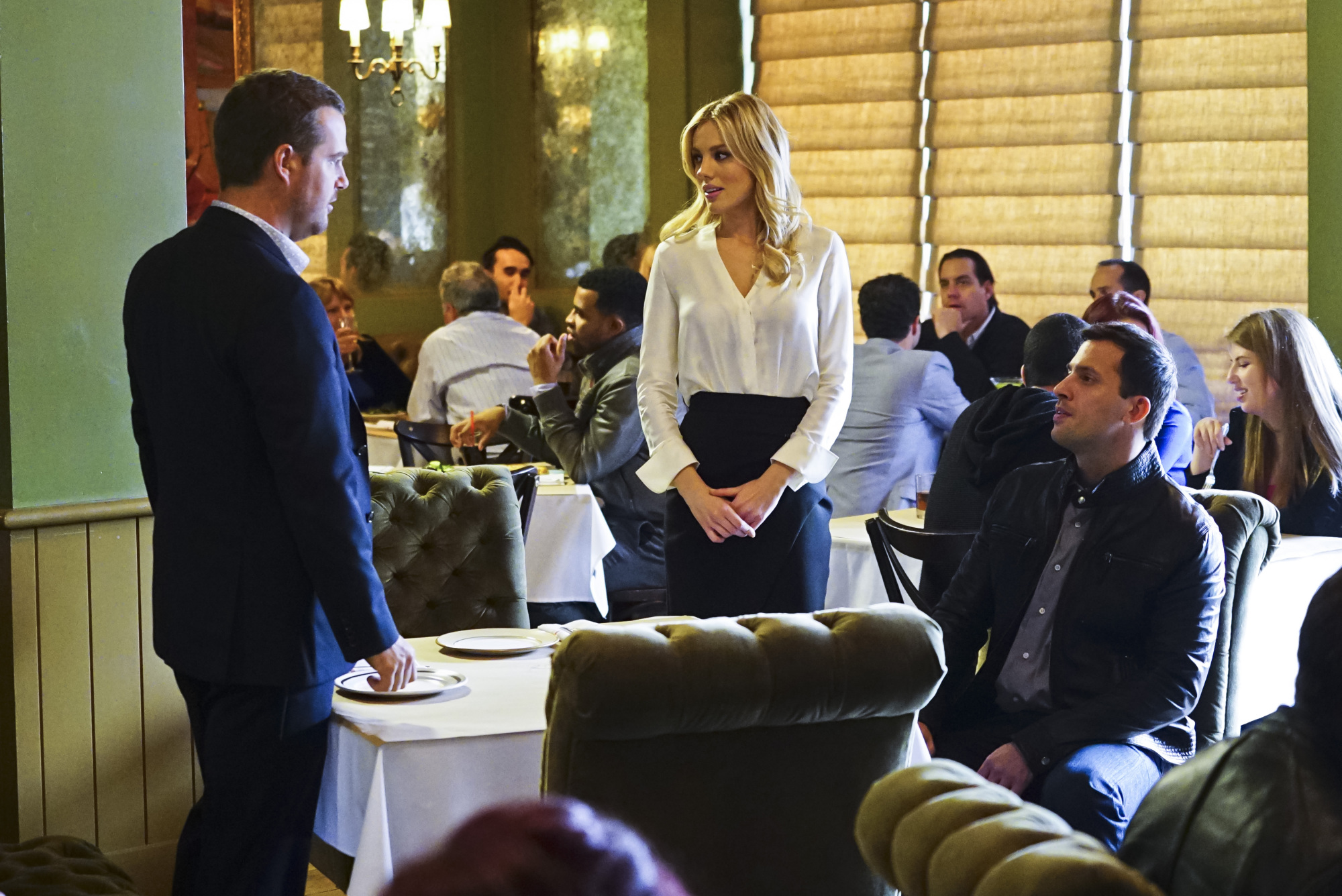 Chris O'Donnell as Special Agent G. Callen, Bar Paly as Anastasia