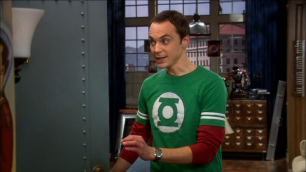 The Big Bang Theory nera Black L t-shirt per adulti Sheldon Cooper Astrosmash Intellivision