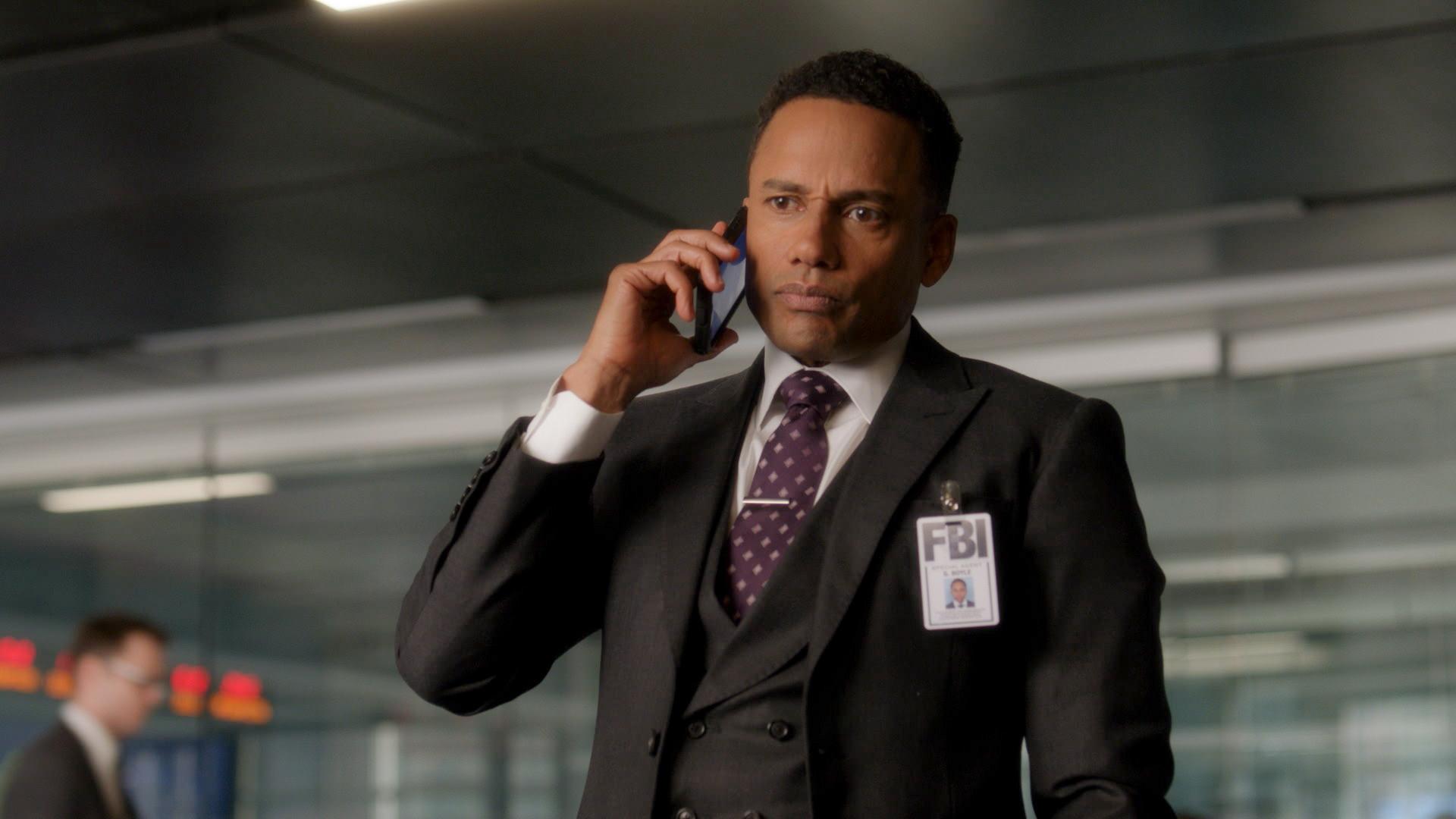 Hill Harper as Agent Spelman Boyle