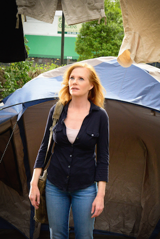 Marg Helgenberger as Christine Price.