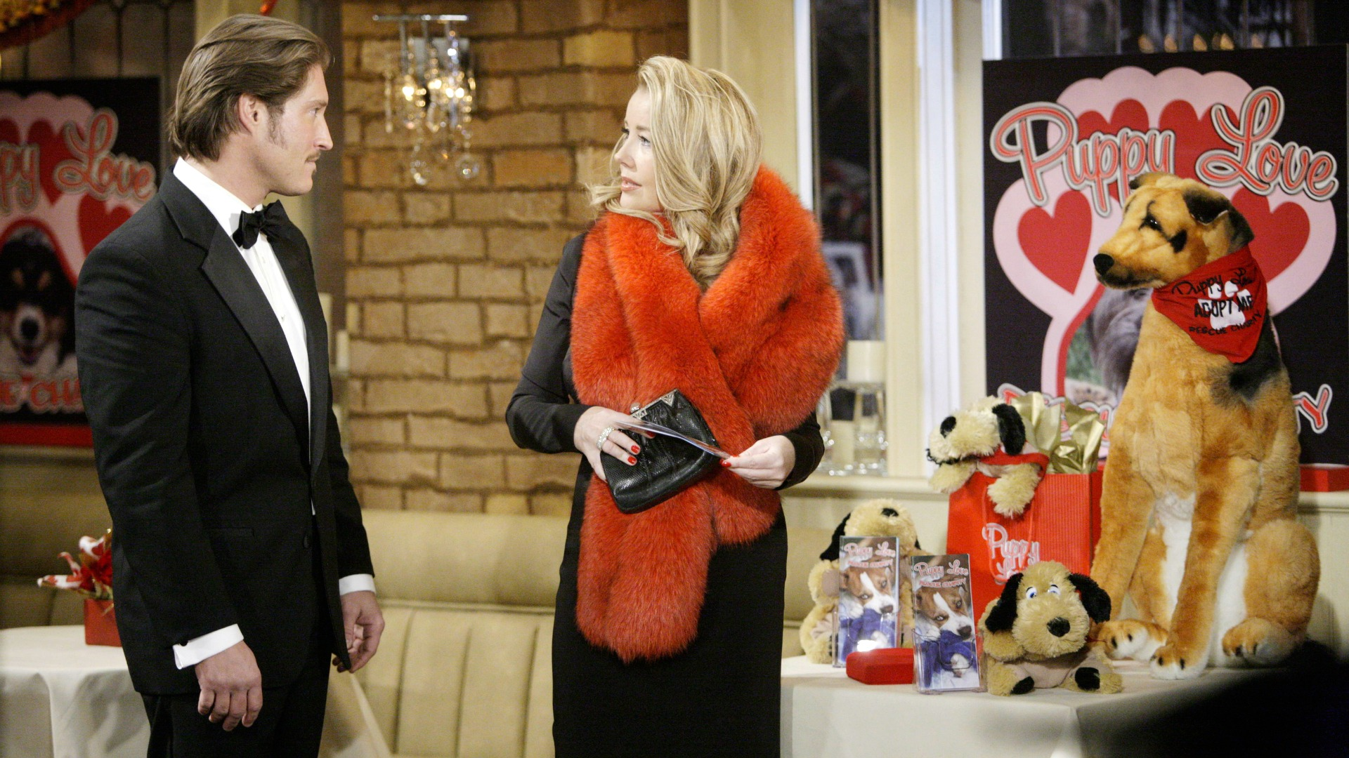 Deacon Sharpe moved to Genoa City and wasted no time in romancing Nikki Newman (Melody Thomas Scott).