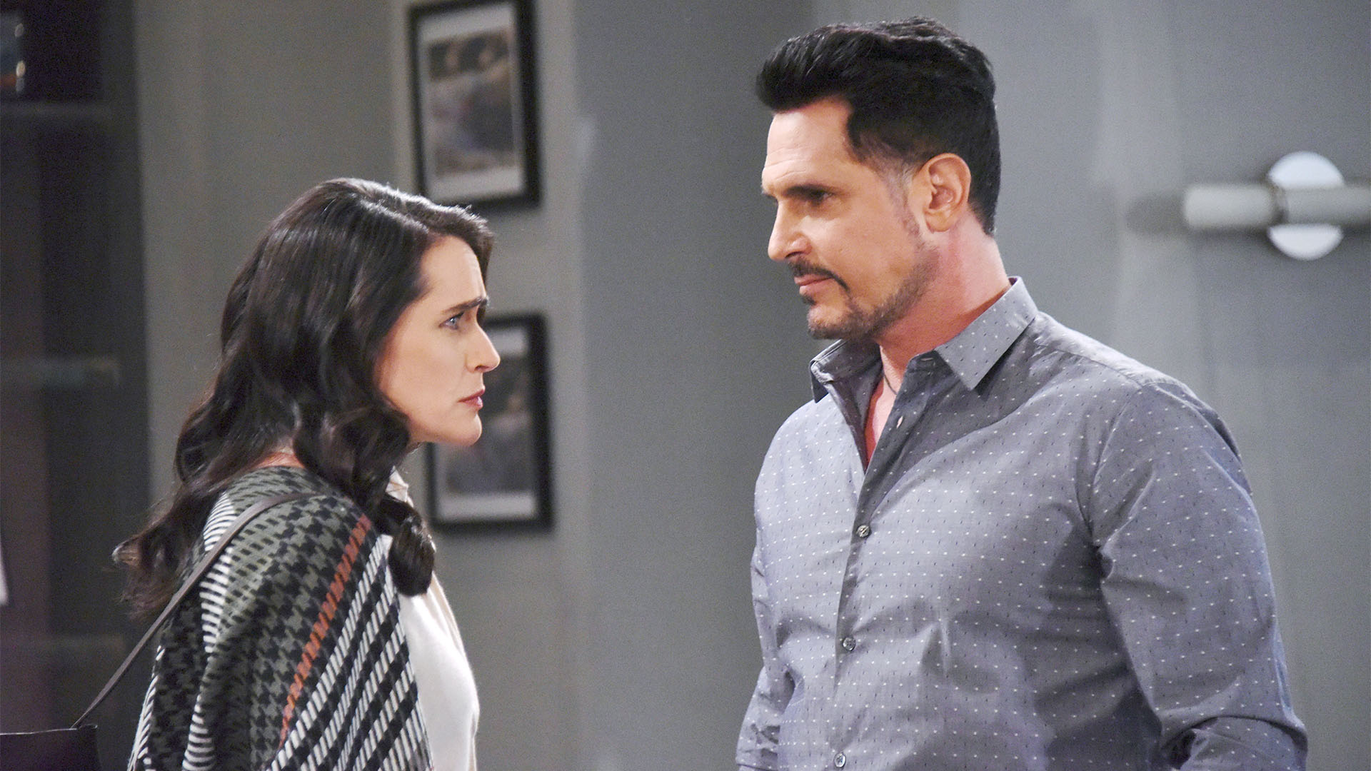 Quinn's dark side surfaces as she goes into protective mode of Wyatt against Bill.