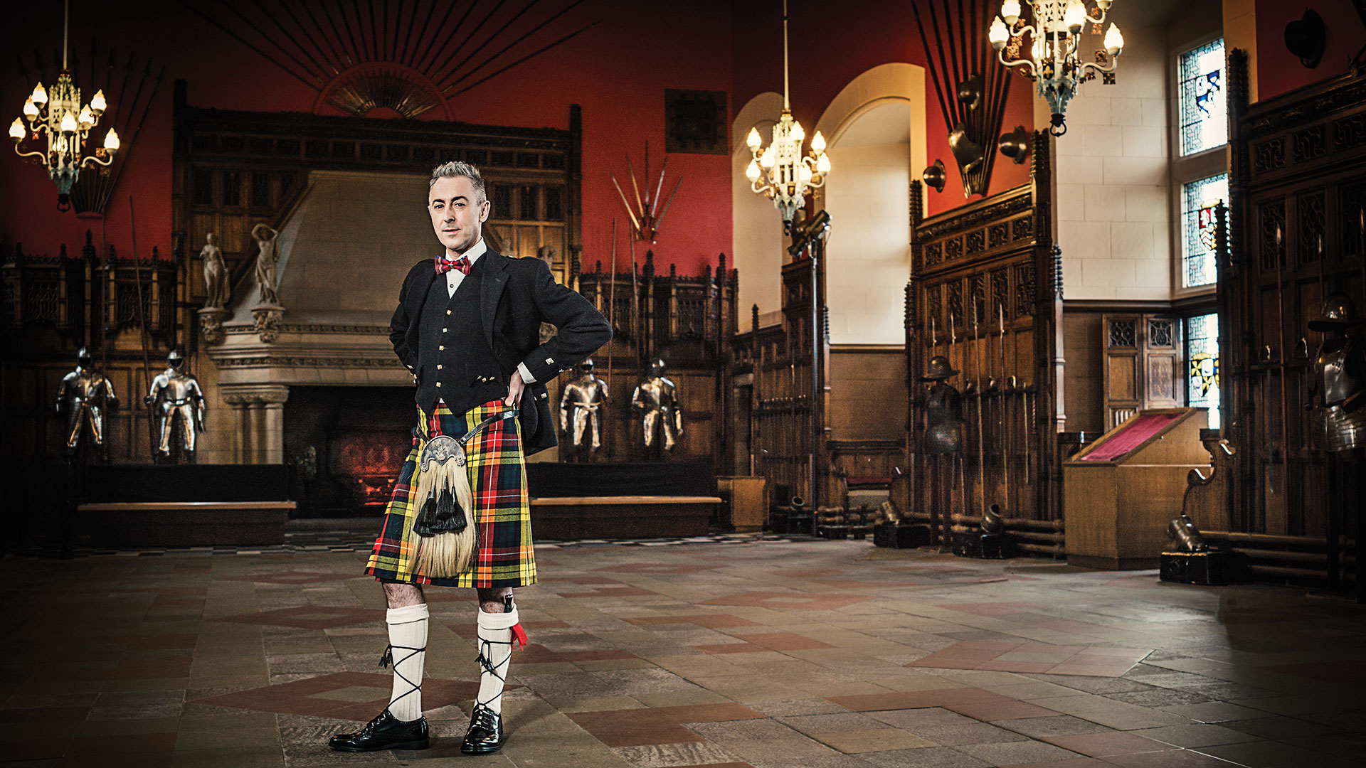 It's easy to have a bonny good time with this great Scot. Check out these cool photos of Alan Cumming in Edinburgh!
