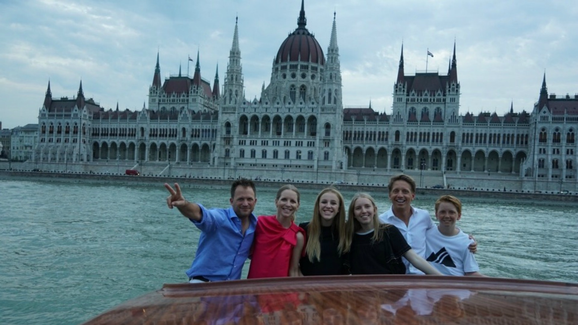 Lauralee Bell (Christine Williams) and her family visited her brother, Brad (B&B Executive Producer and Head Writer), in Hungary.