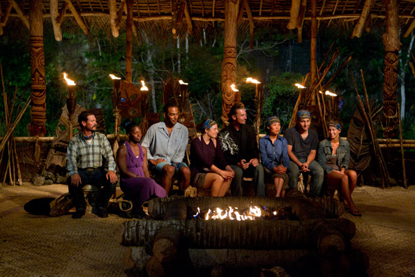 Upolu at Tribal Council