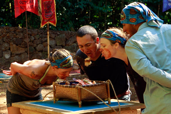 Upolu Tribe During Immunity/Reward Challenge