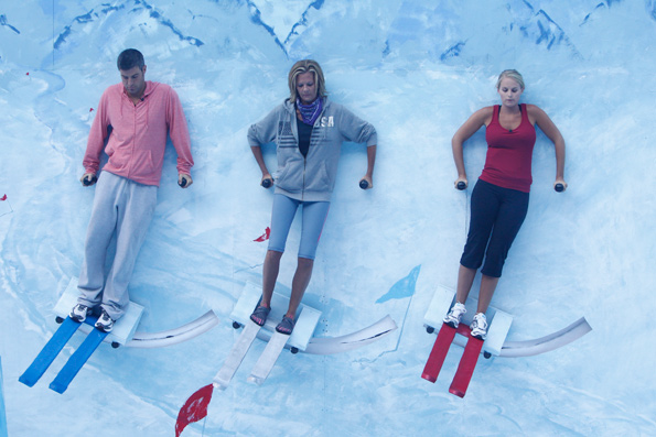 HouseGuests Compete in HoH Competition