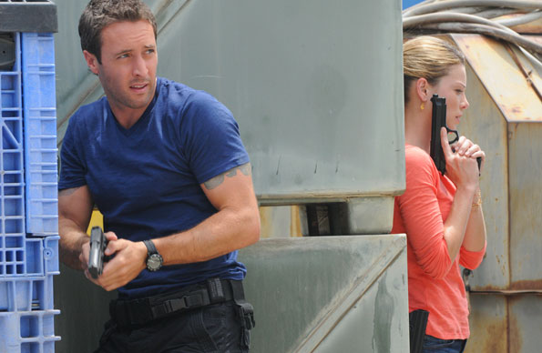 McGarrett and Officer Weston