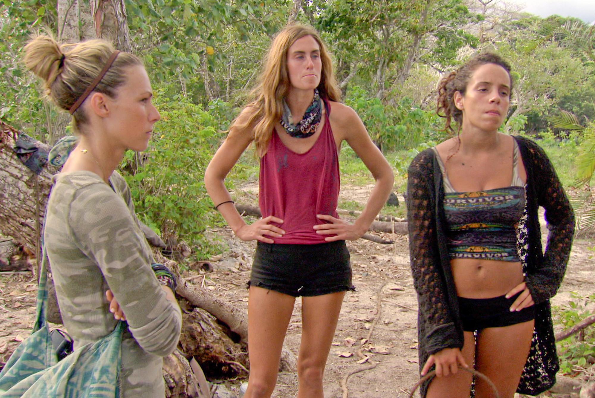 Chelsea, Kim and Alicia