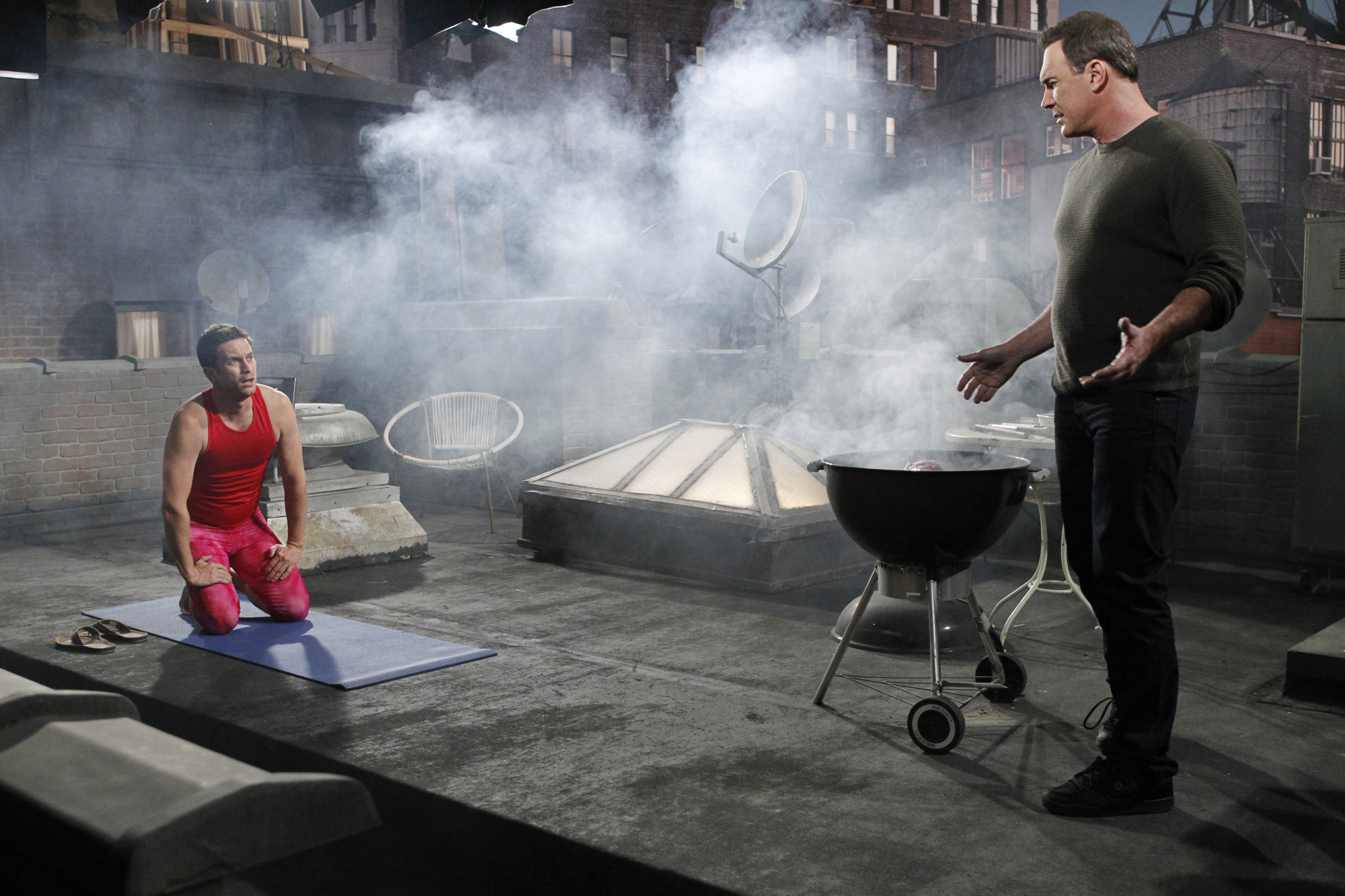 Yoga and Barbeque