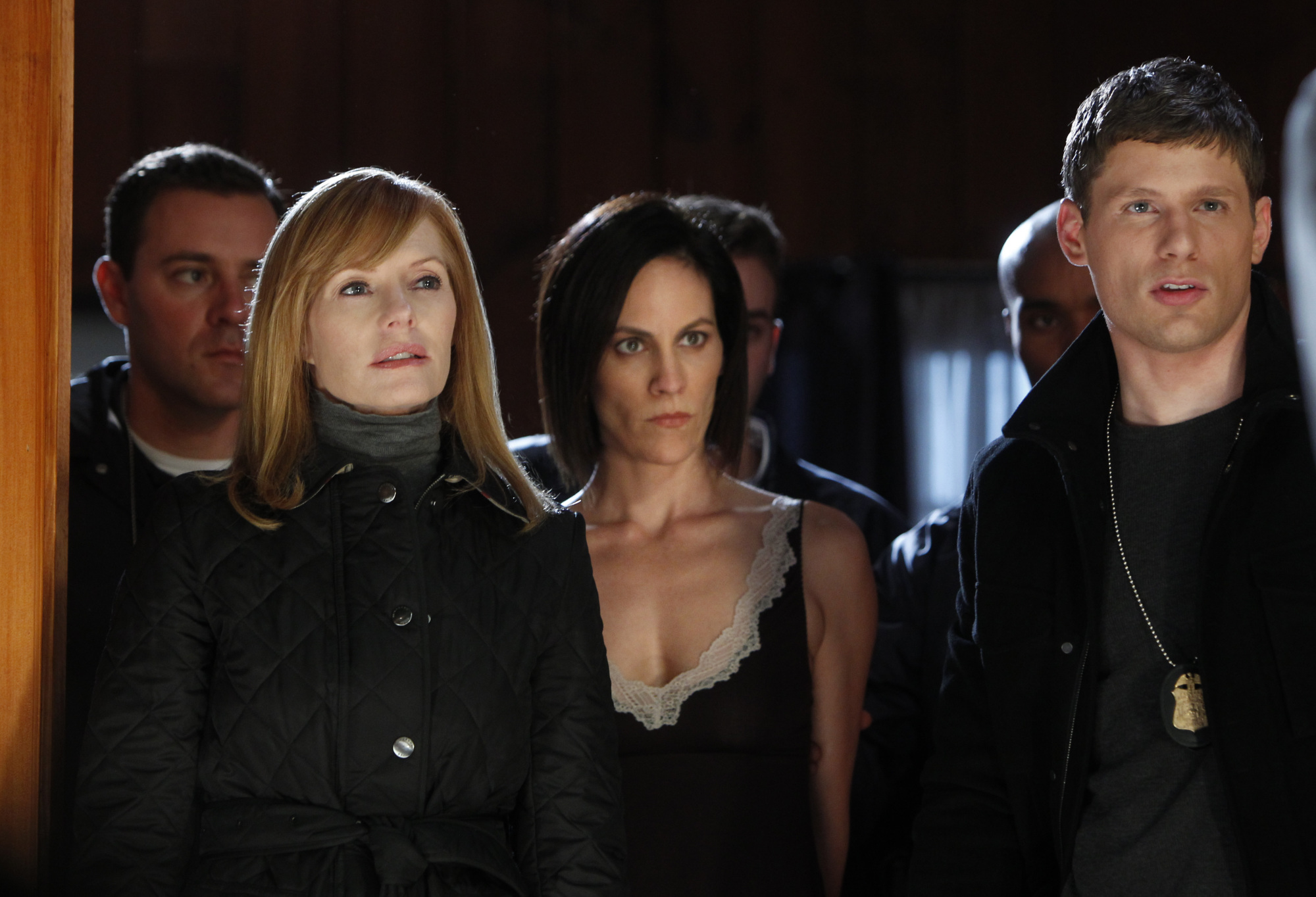 Catherine, Laura and Agent Pratt