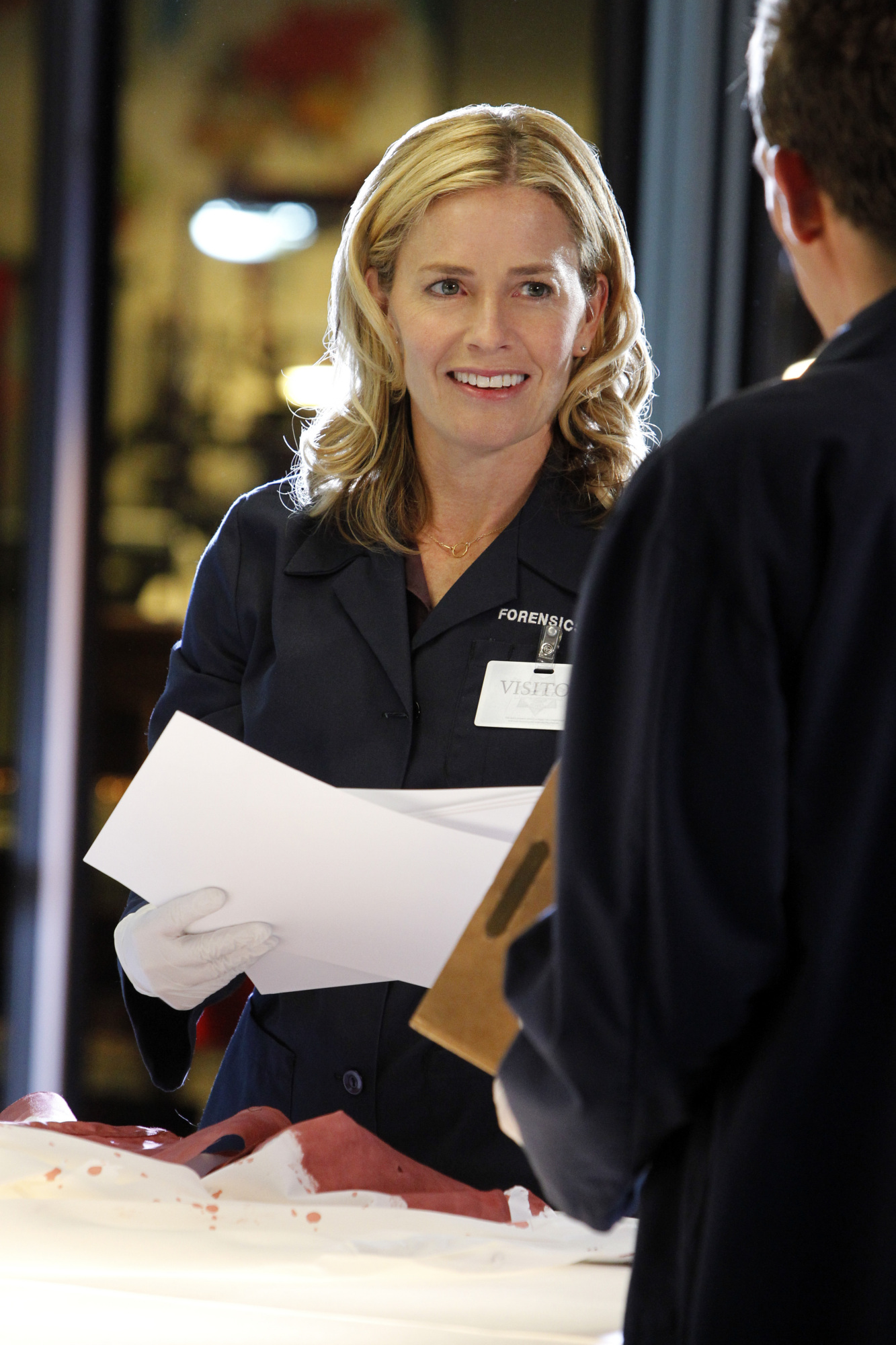 Elisabeth Shue plays Julie Finlay