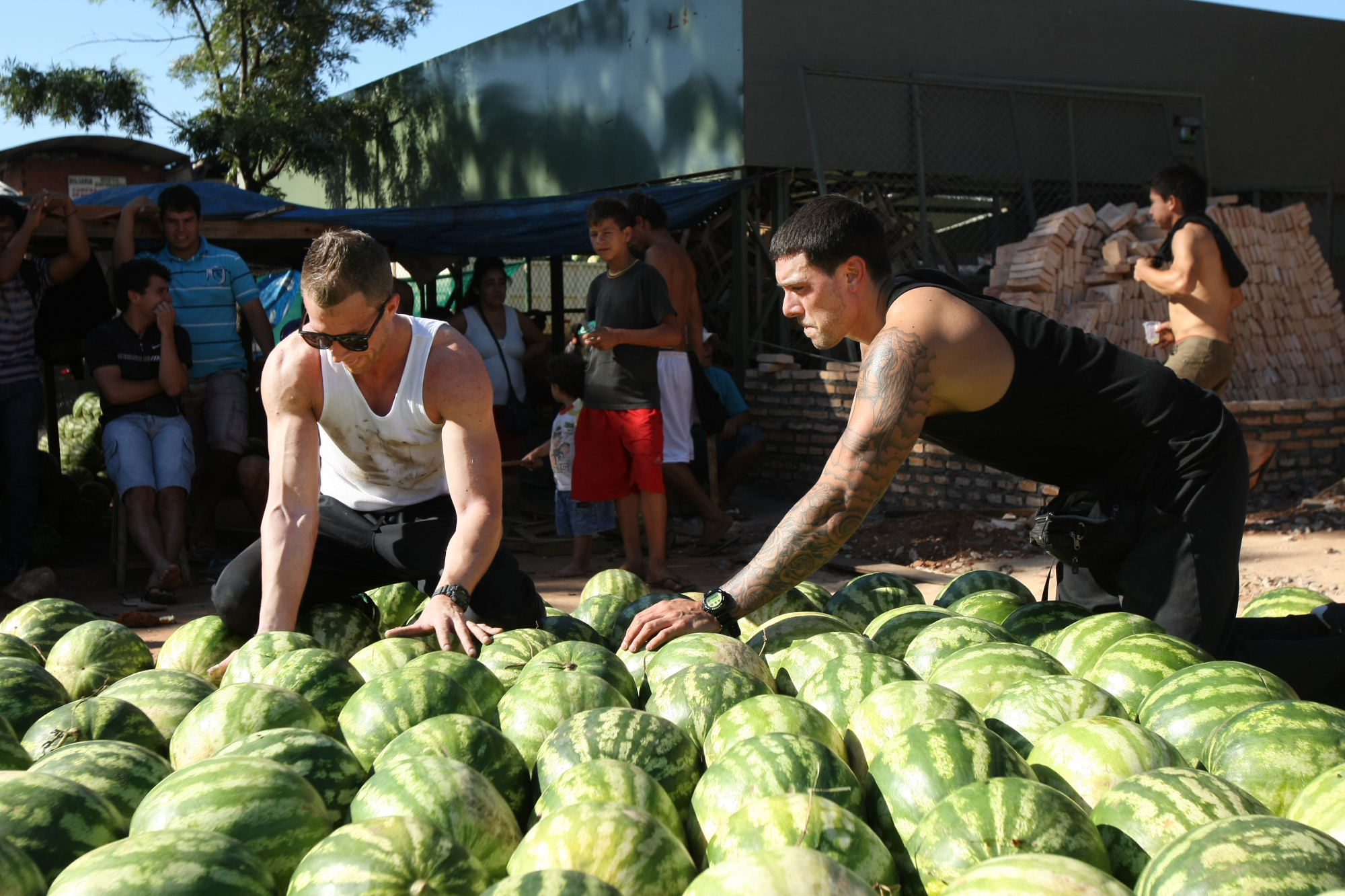 Stacking Watermelons