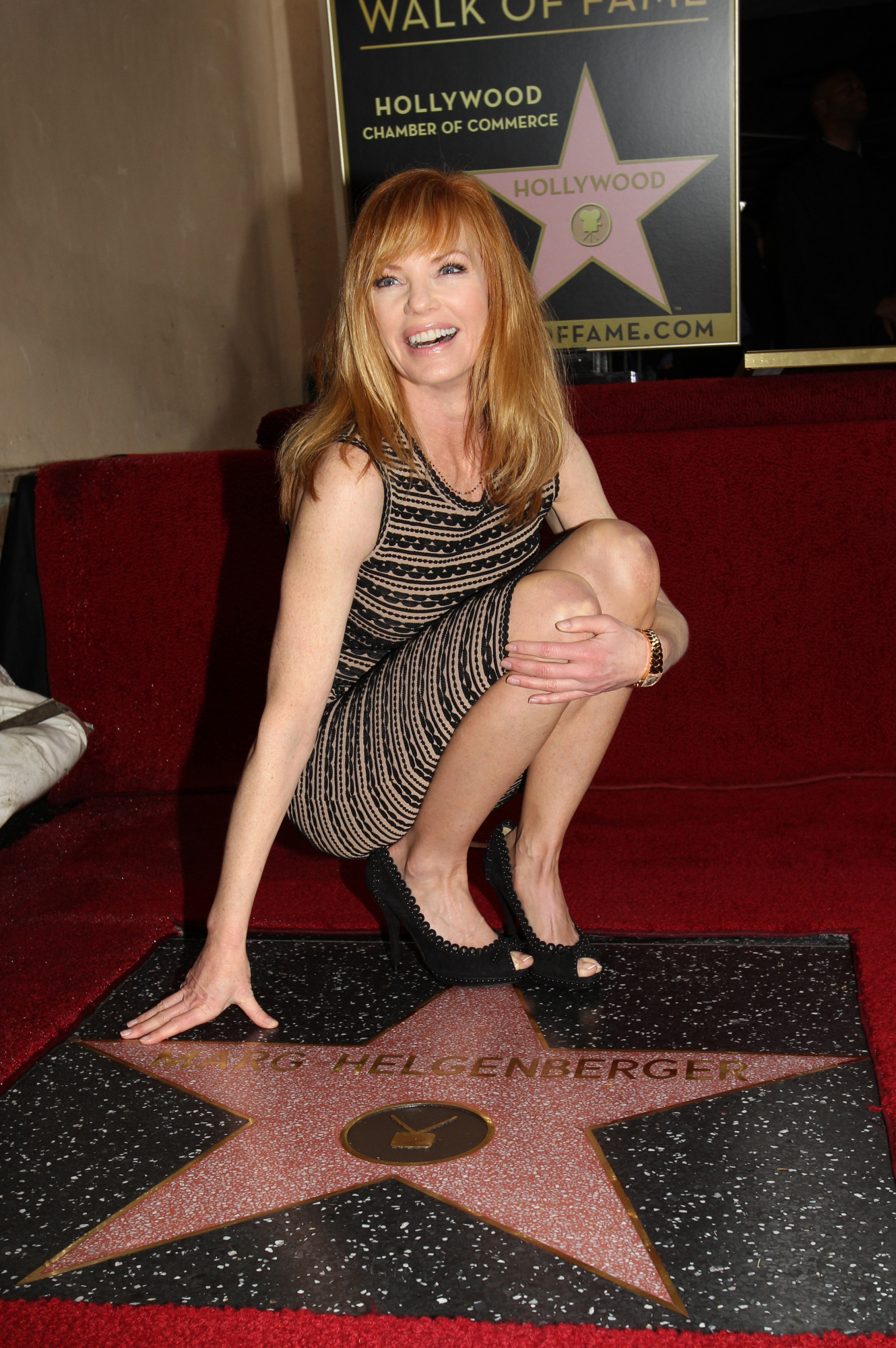 Marg Helgenberger Honored!