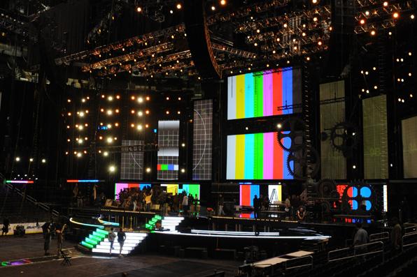 Stage Setup