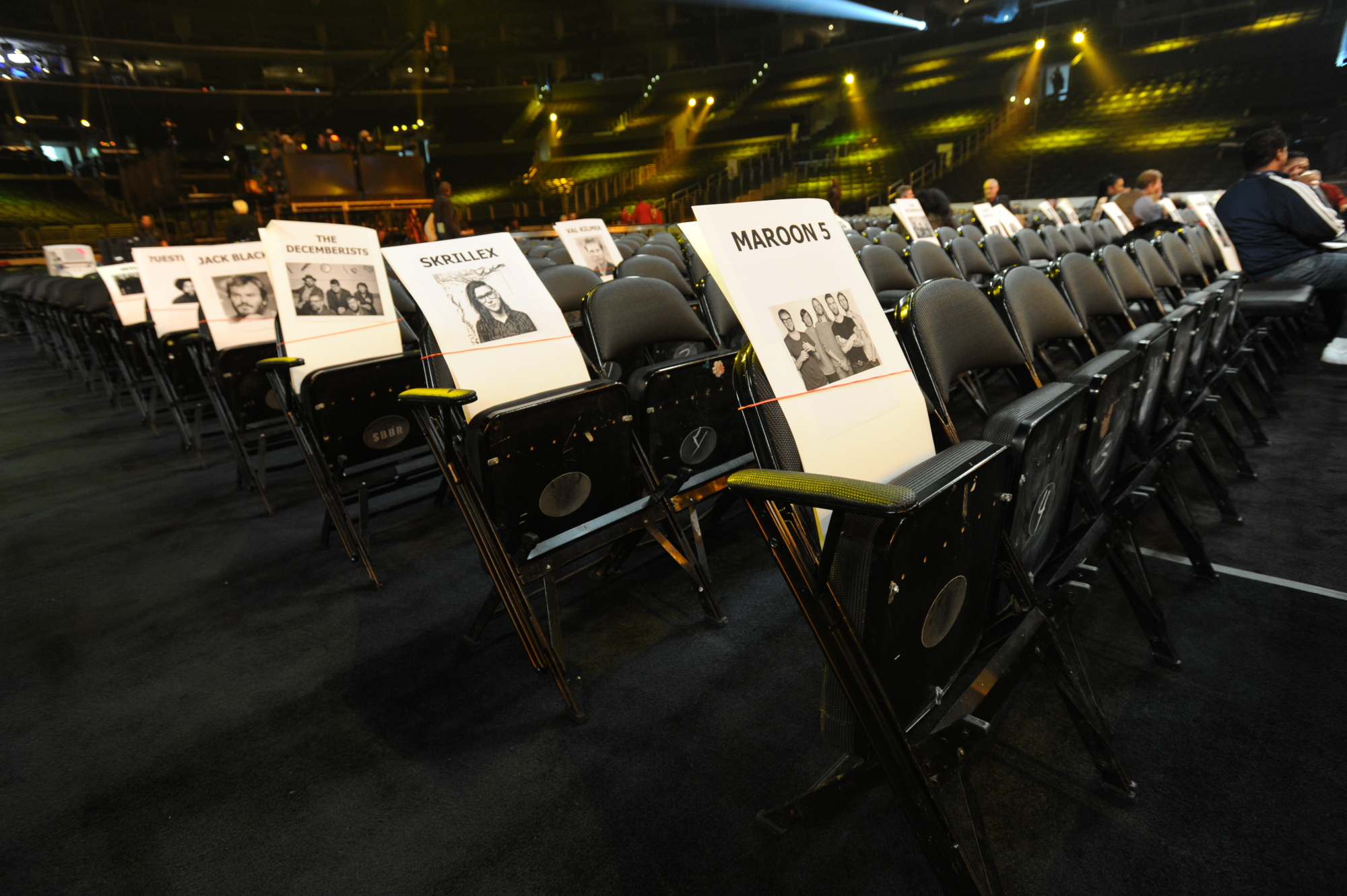 GRAMMY Aisle Seats