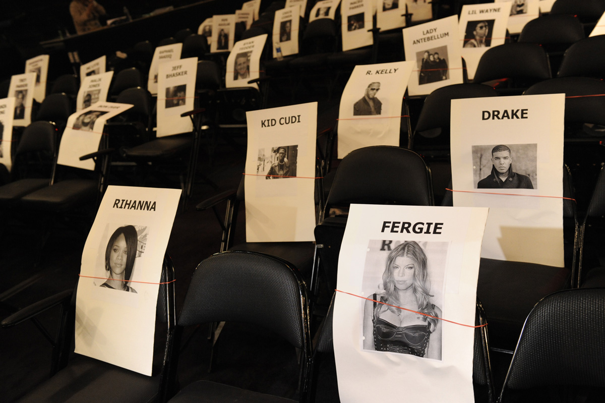 Rihanna and Fergie