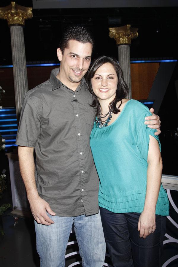 Christina Davidson and Frank Tucci