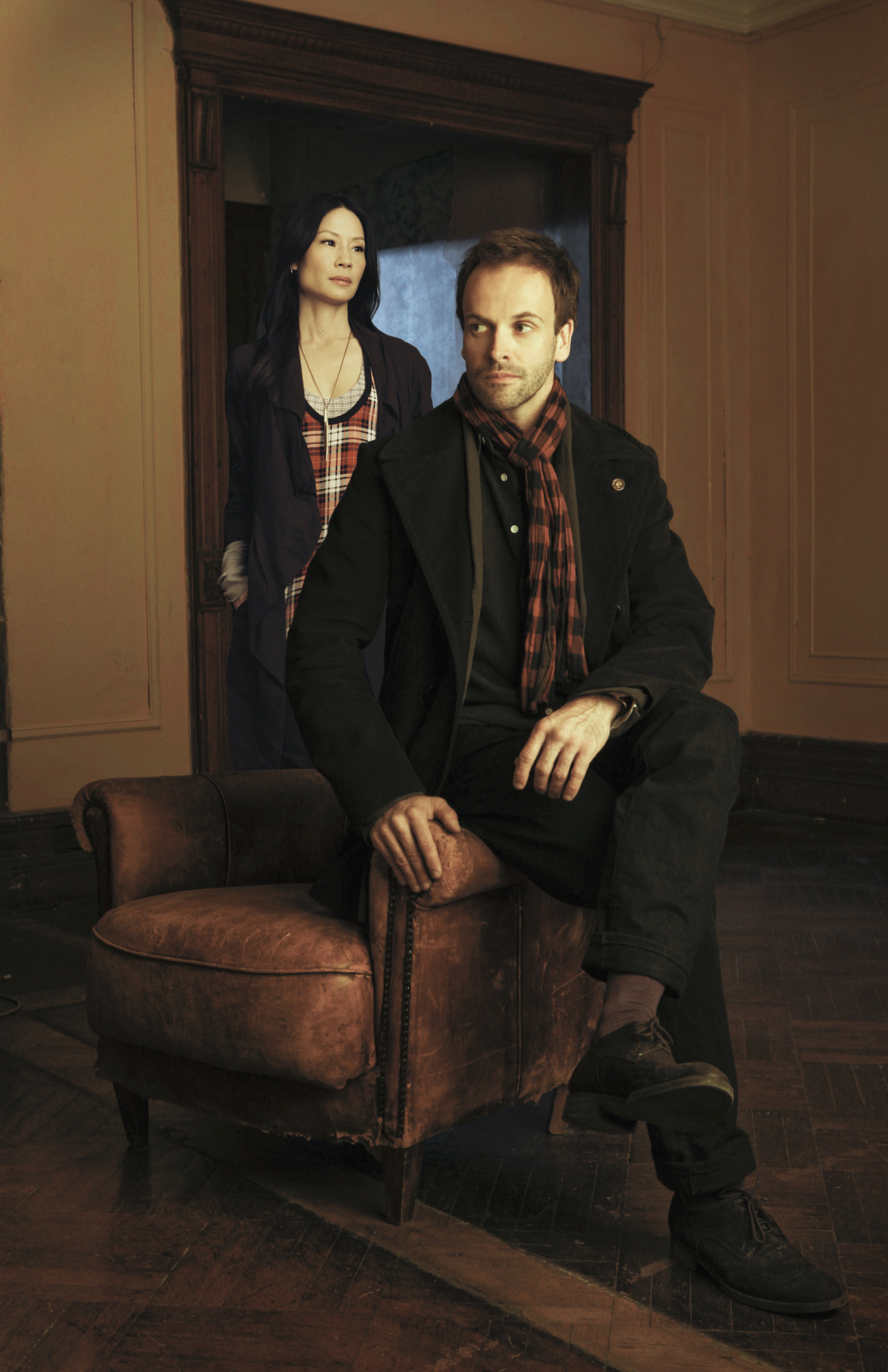 The Crime Solving Duo Joan Watson and Sherlock Holmes
