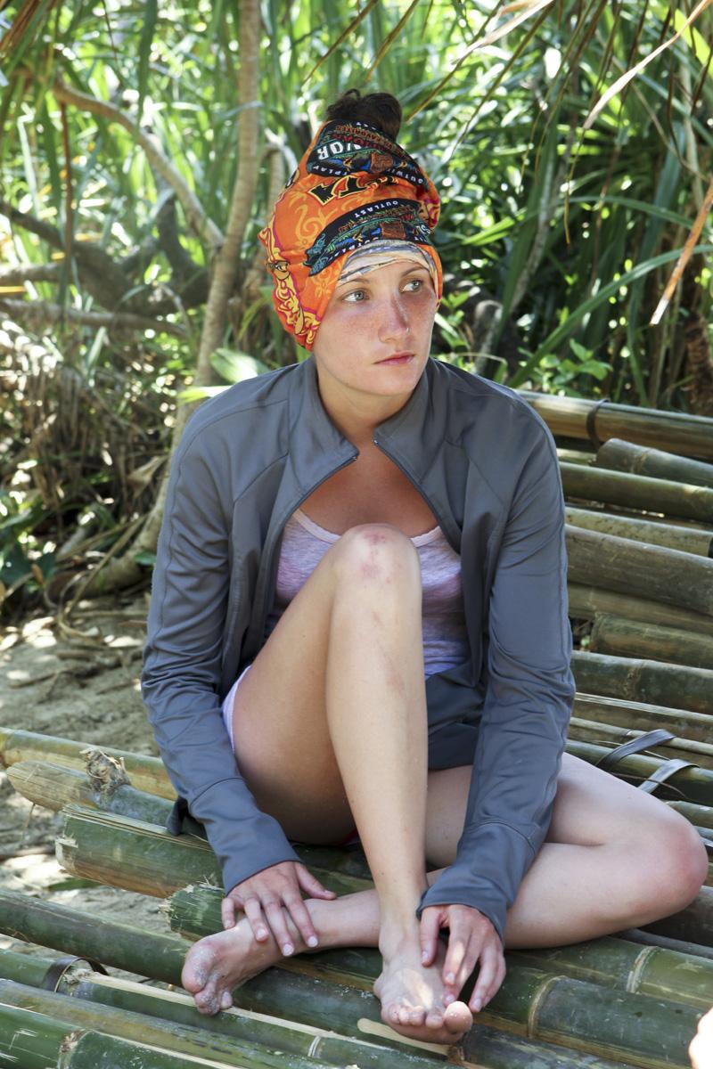 Julia at camp