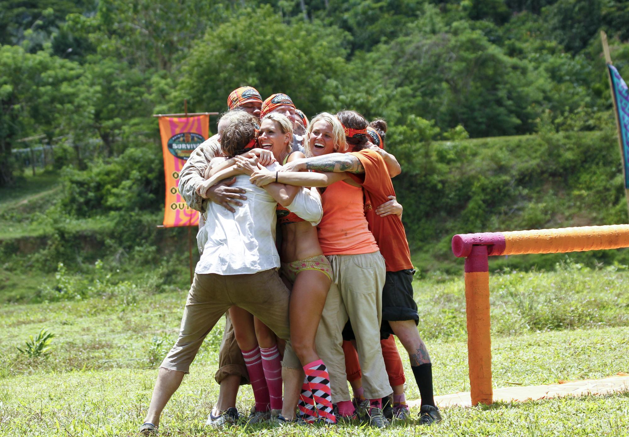 Tribe hug