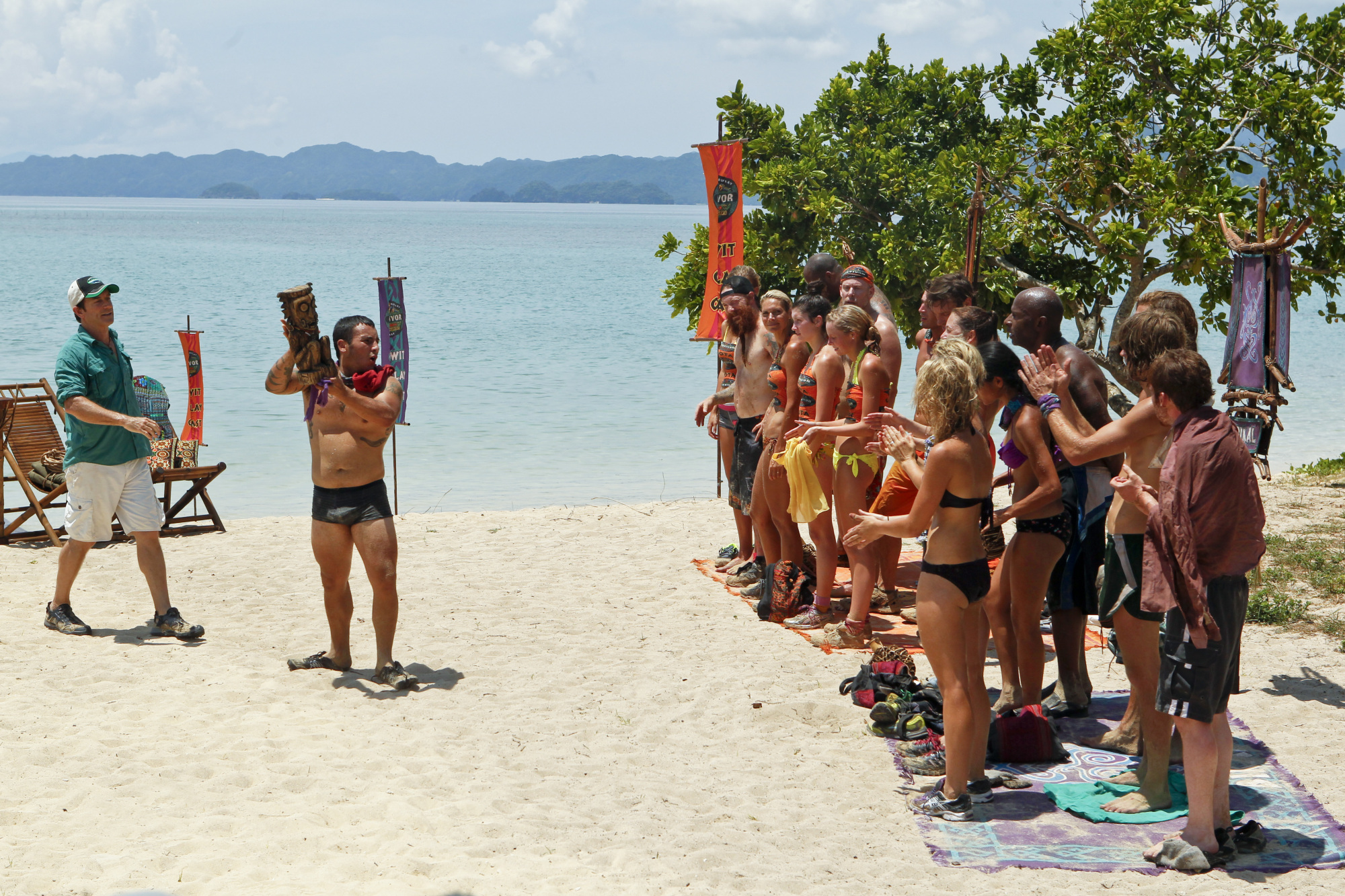 Bikal wins immunity on