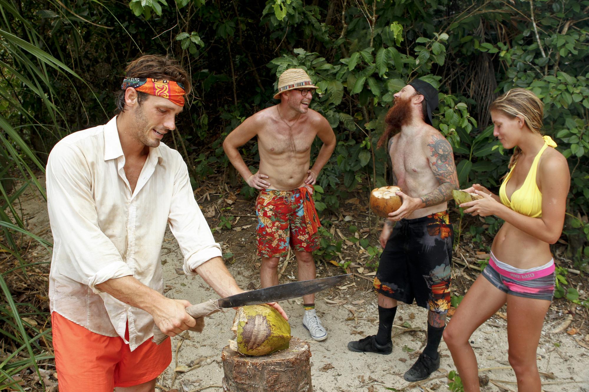 Reynold, Michael, Matt and Hope