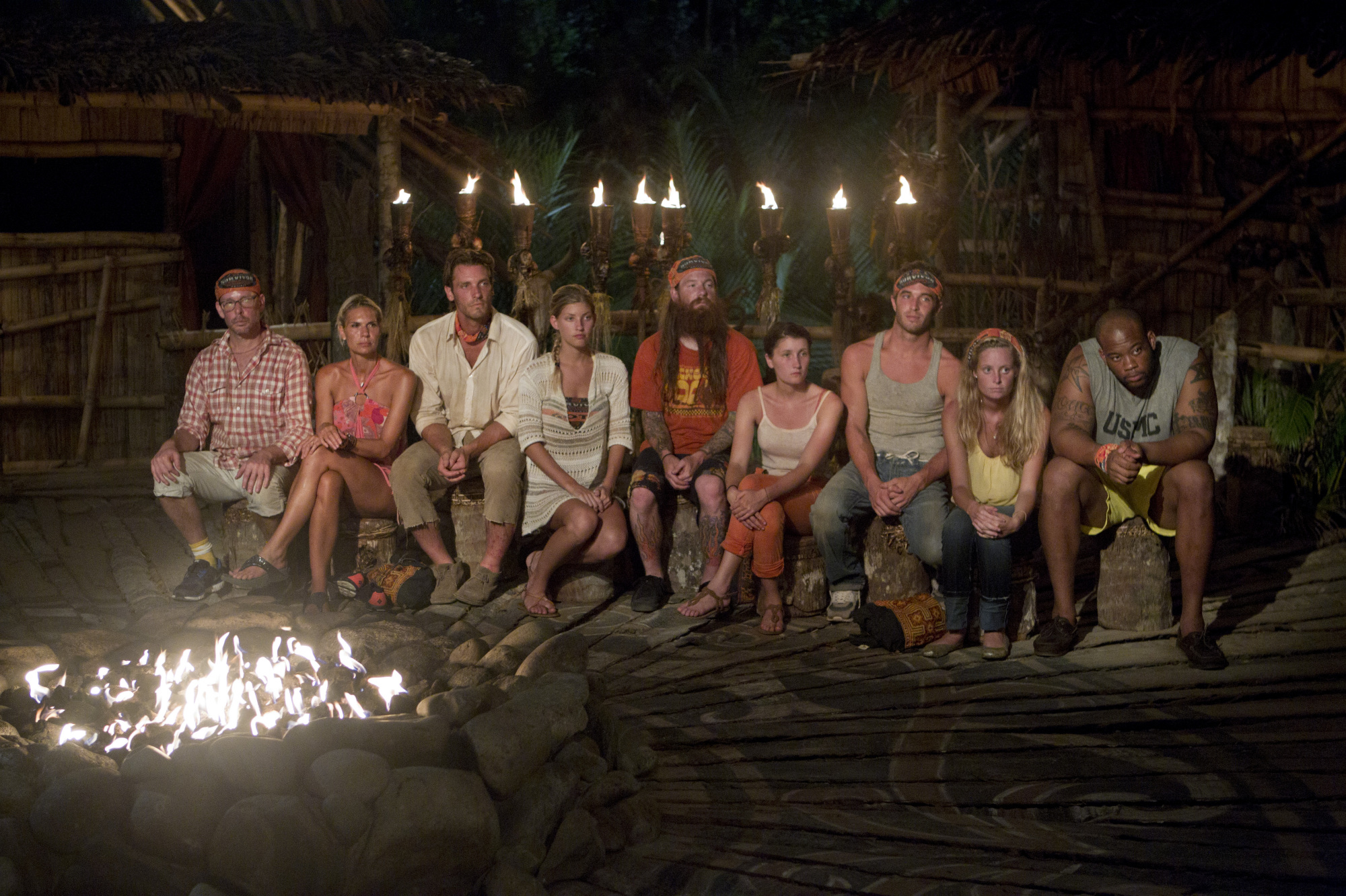The Gota tribe goes to Tribal Council on