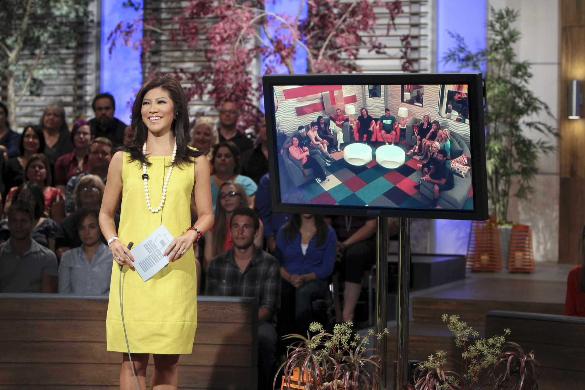 Host Julie Chen
