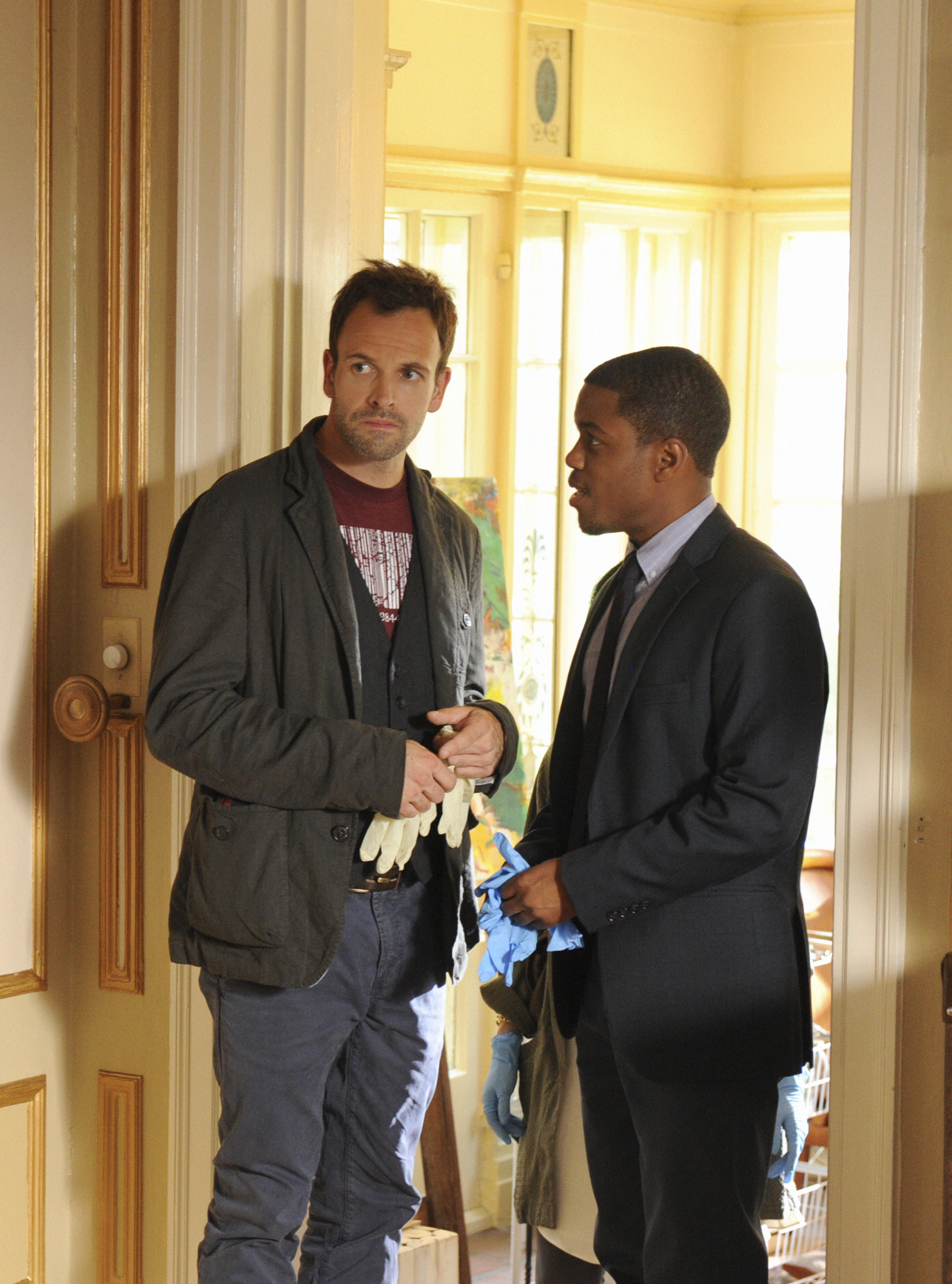 Sherlock and Detective Marcus Bell