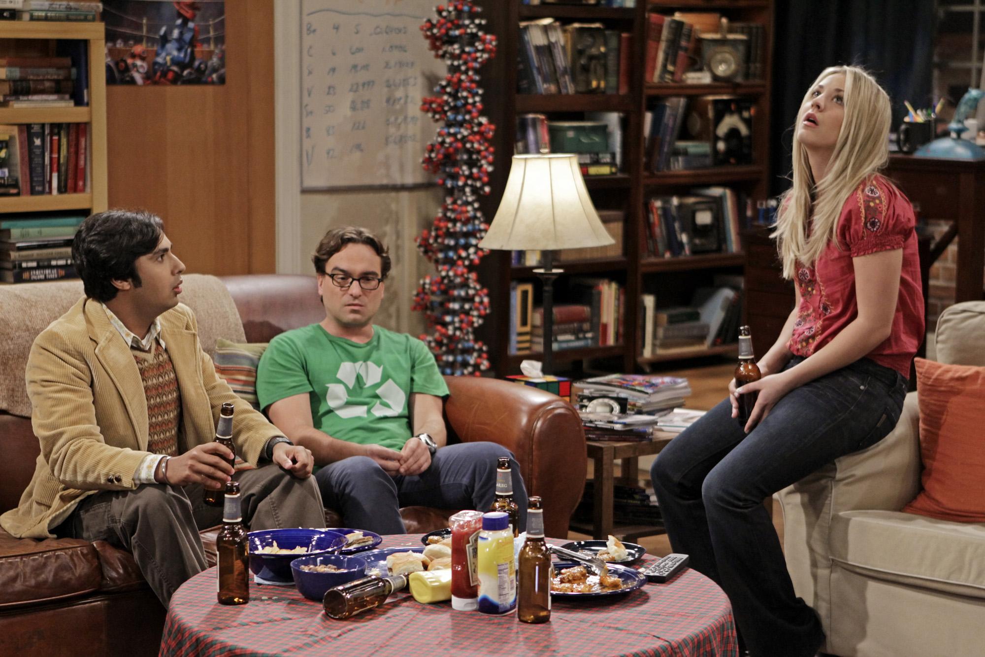 Raj, Leonard & Penny