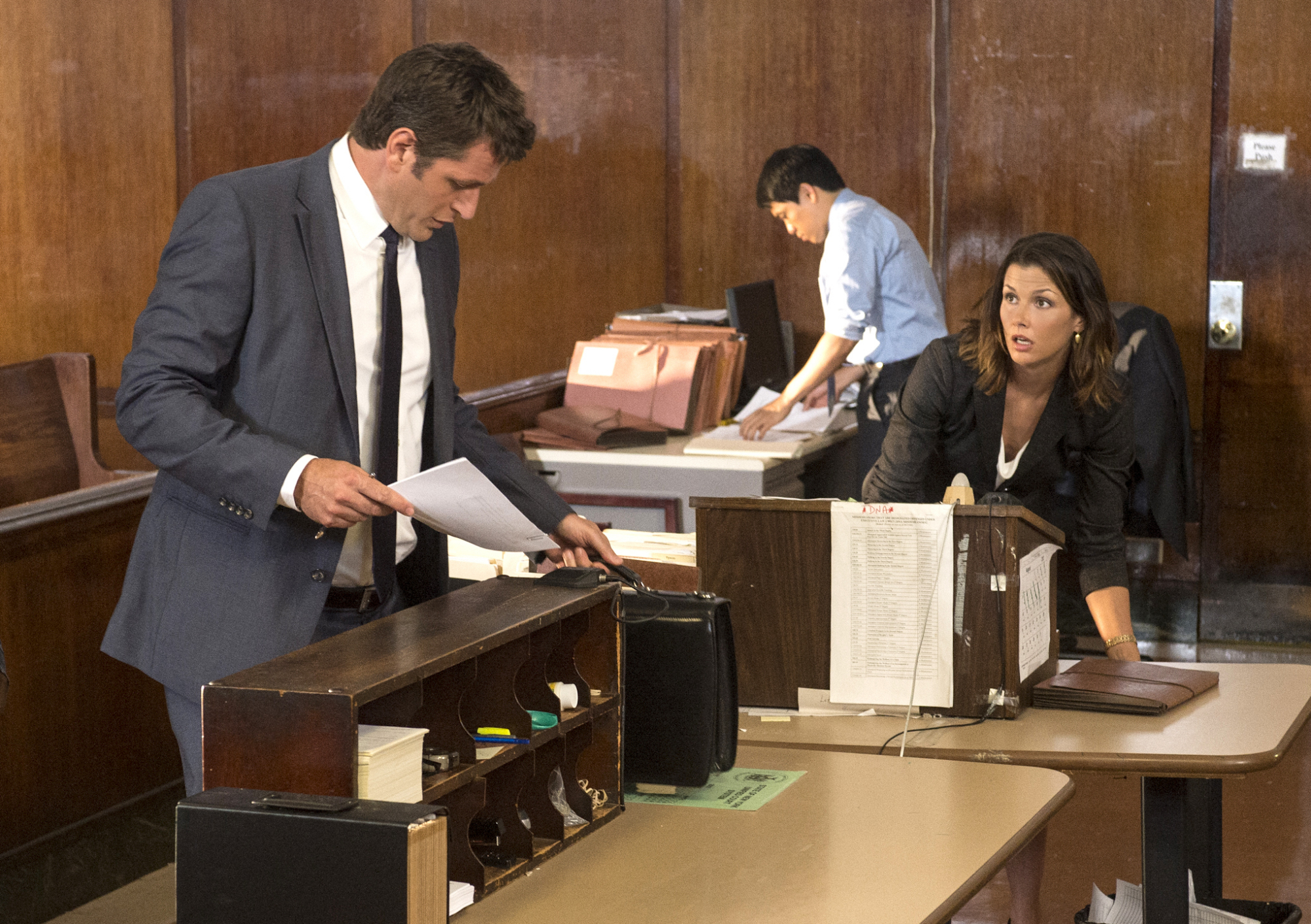 Erin and Jack in Court
