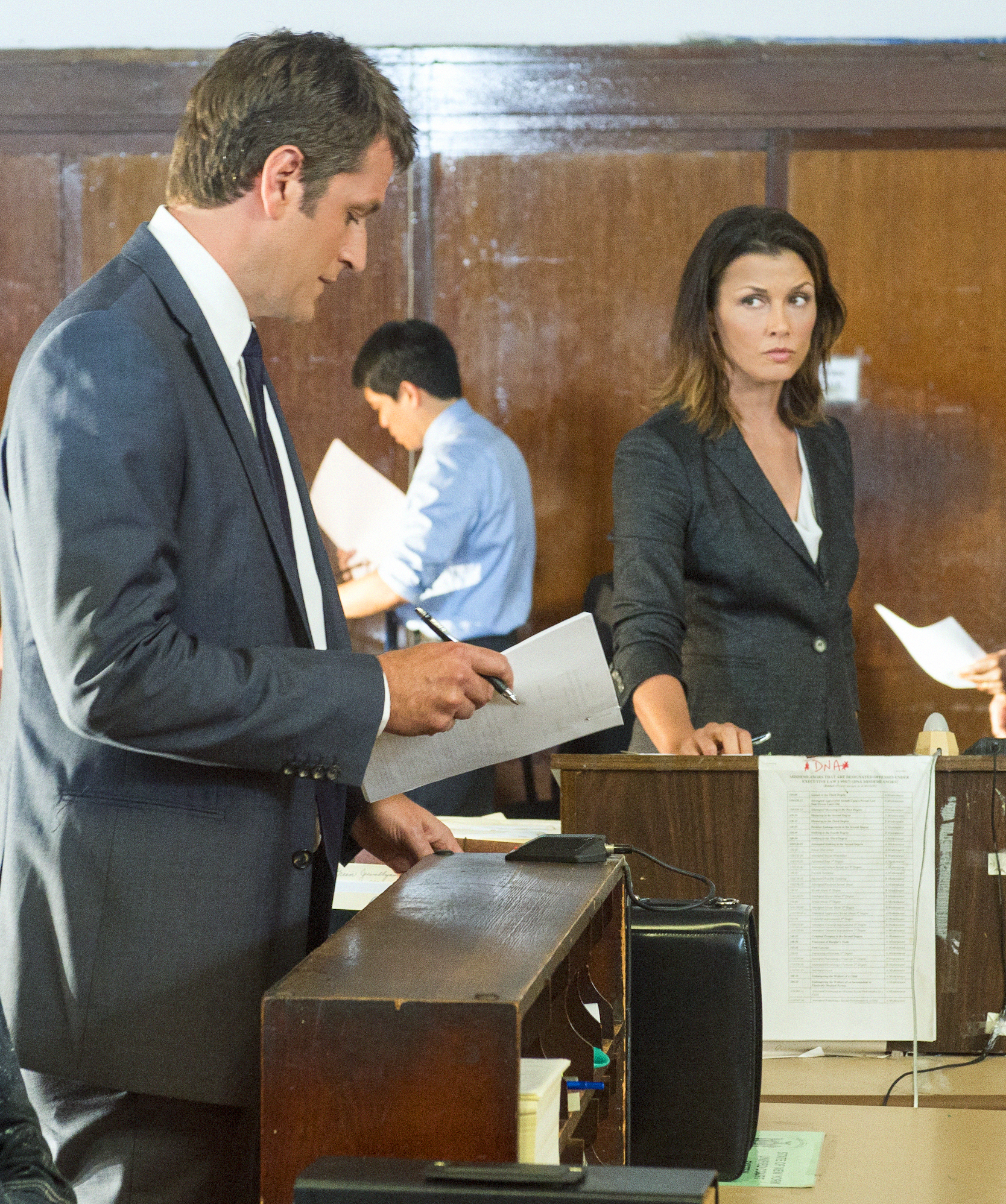 Erin and Her Ex-Husband in Court