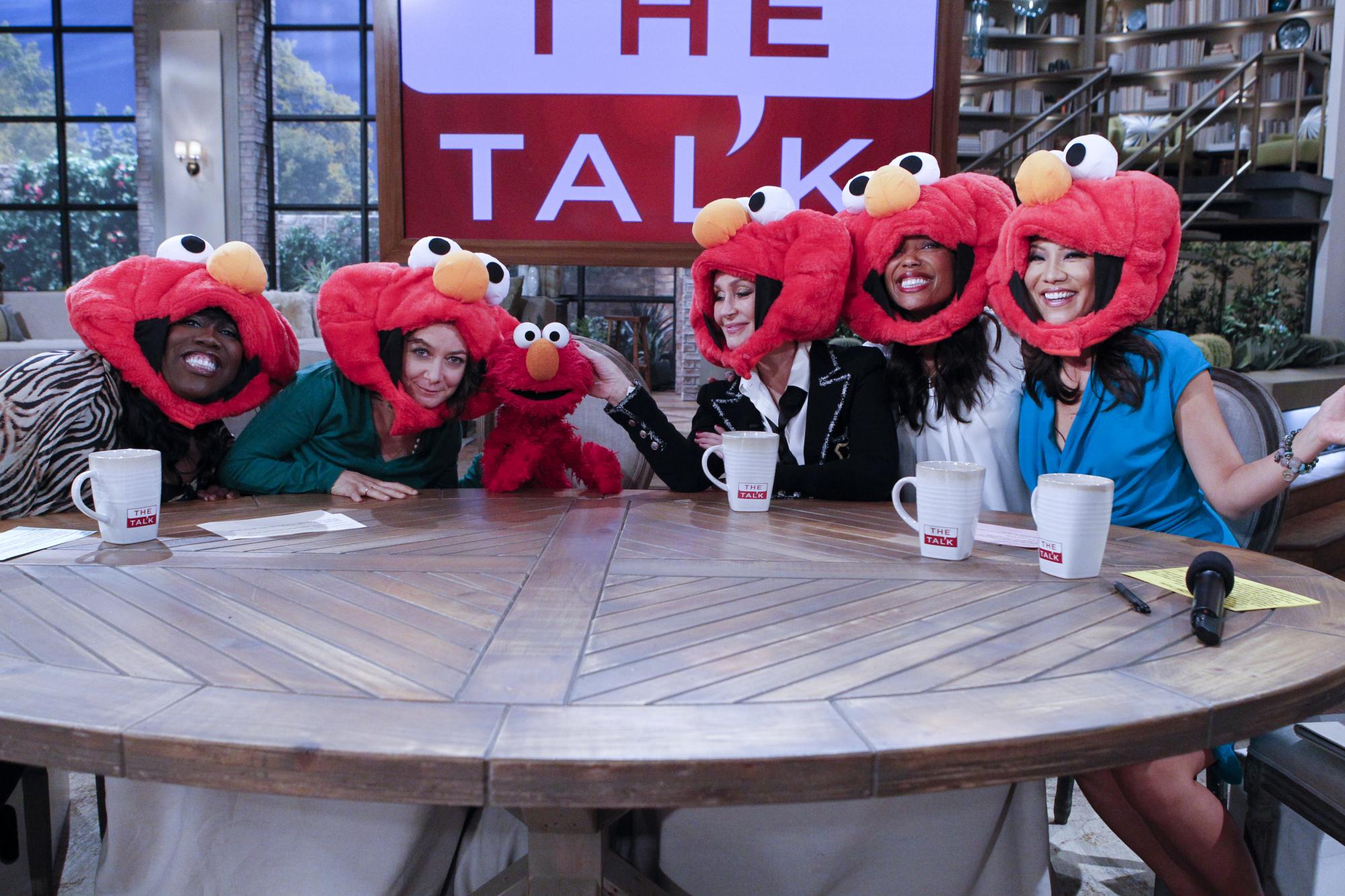 Elmo and Elmo Fans